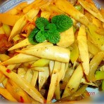 猪肉炒酸菜笋的做法