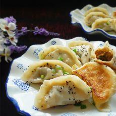猪肉香芹煎饺