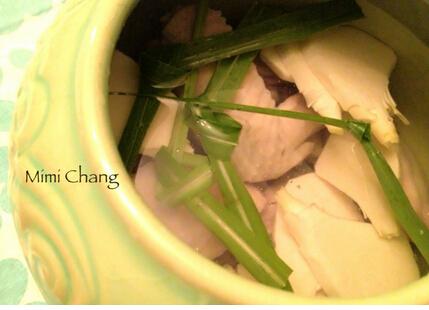 竹笋香茅鸡汤