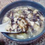 紫菜豆腐蛋花汤