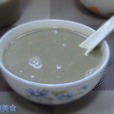 紫菜虾皮咸豆浆