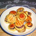 紫薯草帽饼