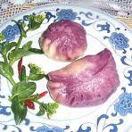 紫薯大肉包