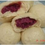 紫薯奶香馒头
