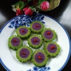 紫薯酿苦瓜
