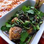 紫苏蒜头豆豉鱼的做法