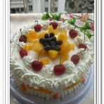 自制水果蛋糕的做法