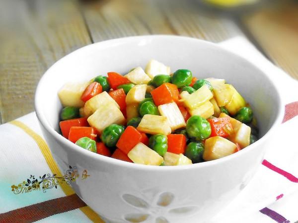 茭白蔬菜丁
