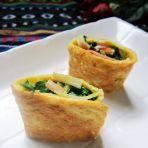 荠菜海鲜卷的做法