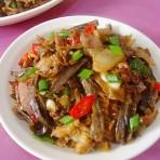 腌菜腊肉焖鱼干