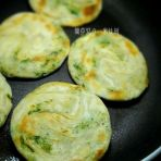 荠菜油酥饼