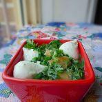 荠菜鱼包蛋汤