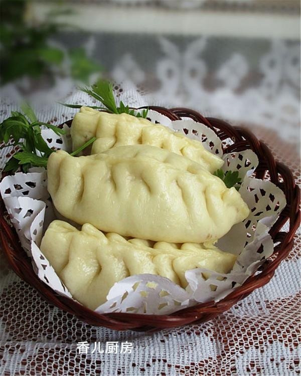 荠菜猪肉秋叶包
