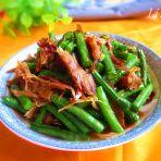 豇豆炒兔肉
