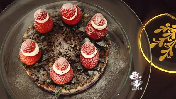 莓果奶酪香酥蛋糕