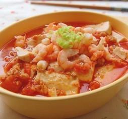 蕃茄豆腐煲