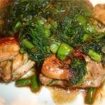 茴香煎鸡腿肉