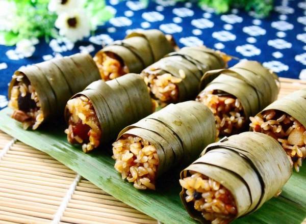 粽香糯米卷的做法