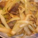 茴香头炒牛肉