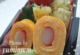 螃蟹煎蛋卷的做法