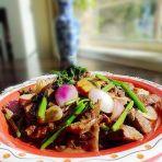 蚝油炒洋葱牛肉