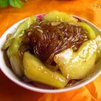 蚝油黄瓜炖粉条的做法