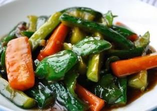 蚝油青椒黄瓜的做法