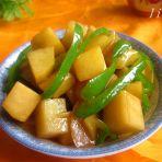 蚝油青椒炖土豆