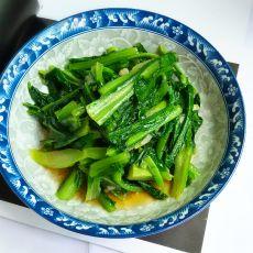 蚝油水炒油麦菜