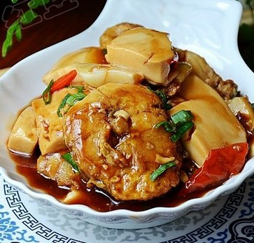 鳕鱼炖豆腐的做法
