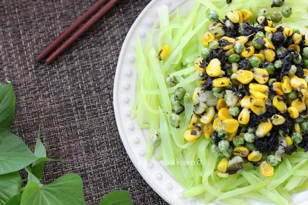 橄榄菜拌莴笋的做法