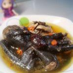 枸杞红枣乌鸡汤