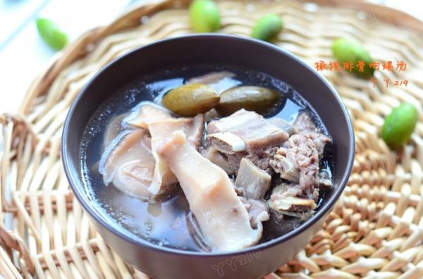 橄榄排骨响螺汤的做法