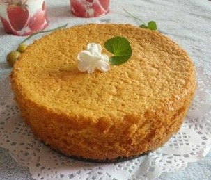 桂花海绵蛋糕的食谱封面