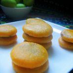 健康无油的南瓜饼的食谱封面
